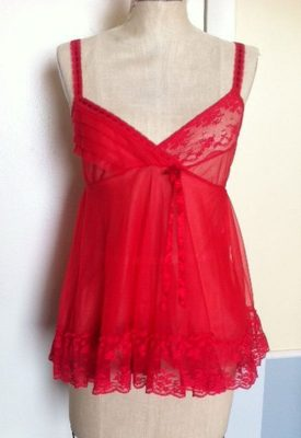 red-babydoll-side