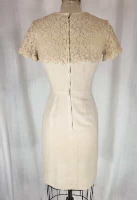 la boudoir miami 50's linen lace dress (7)