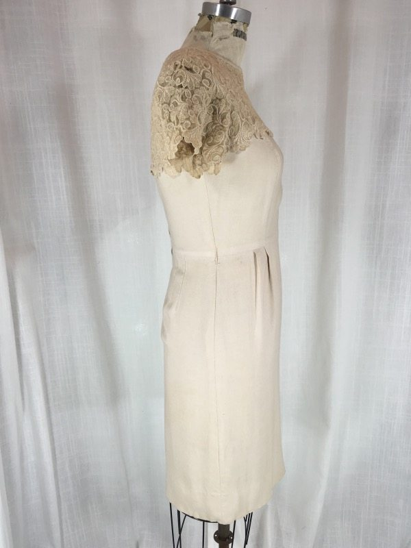 la boudoir miami 50's linen lace dress (6)