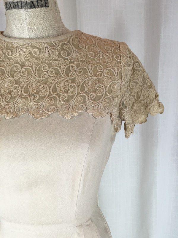 la boudoir miami 50's linen lace dress (5)