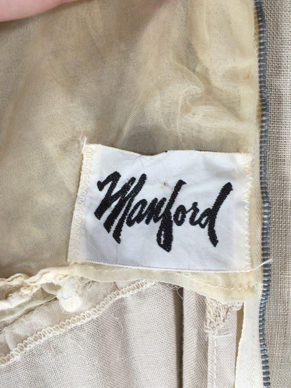 la boudoir miami 50's linen lace dress (3)