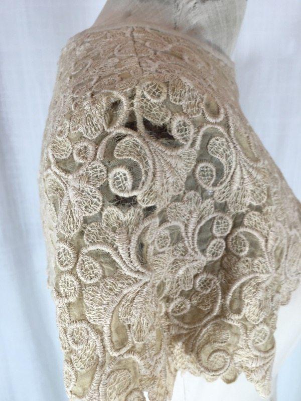 la boudoir miami 50's linen lace dress (2)