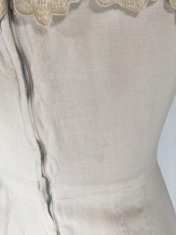 la boudoir miami 50's linen lace dress (1)
