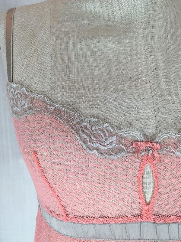 la boudoir peach nightgown (3)