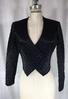 la-boudoir-miami-1980s-black-satin-quilted-jacket-2