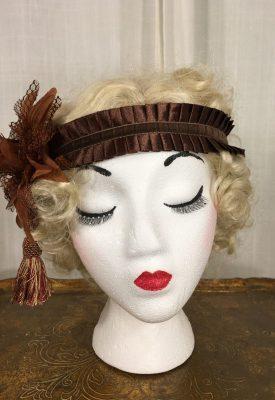 la-boudoir-miami-lauren-arkin-headpiece-1920s-brown-velvet-flower-2