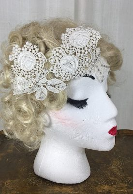 la boudoir miami white lace 1920s headpiece (2)