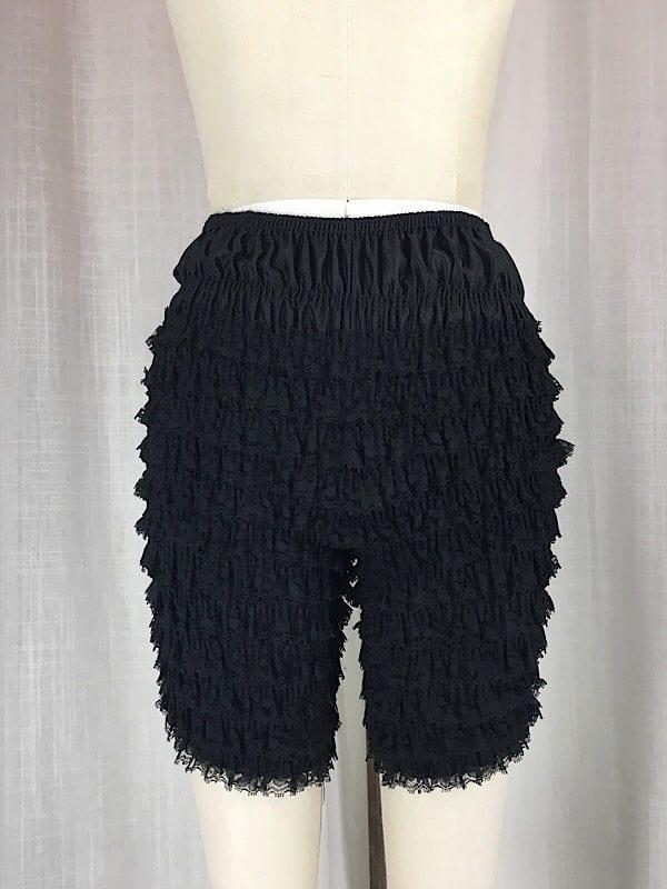 la-boudoir-miami-vintage-1960s-black-ruffle-shorts-2