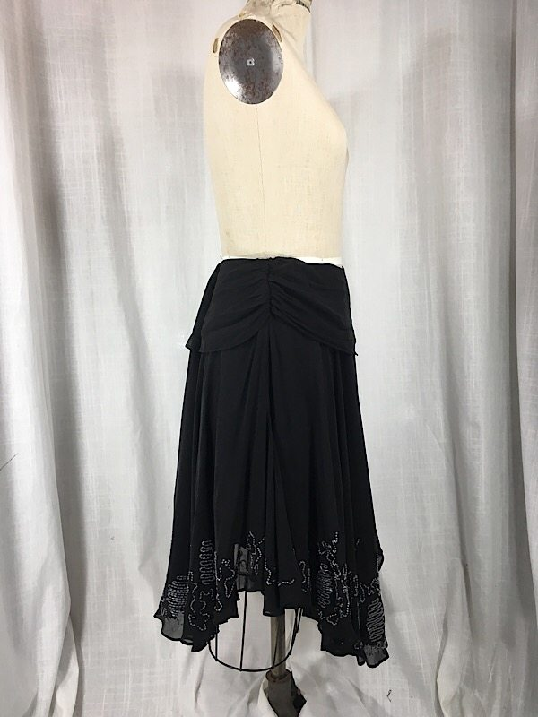 la-boudoir-miami-black-french-connection-beaded-skirt-4