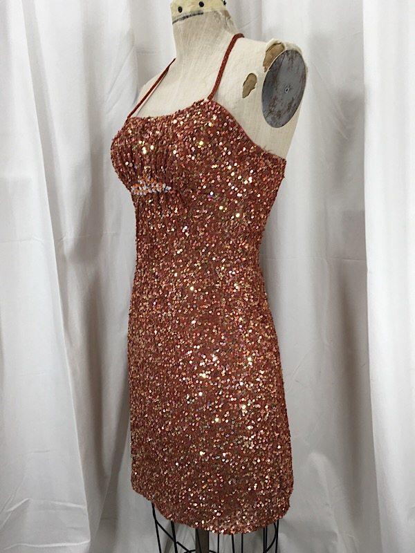 la-boudoir-miami-1990s-scala-rust-orange-sequin-cocktail-dress-2