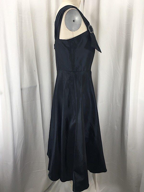 la-boudoir-miami-1950s-navy-taffeta-cocktail-dress-2