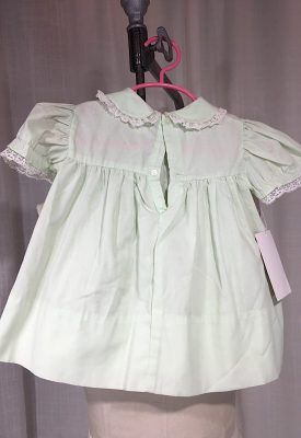 la boudoir miami 1950's mint green and lace young girls dress (3)
