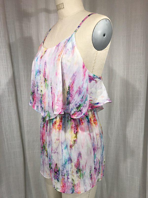 la boudoir miami tie dye short romper (4)