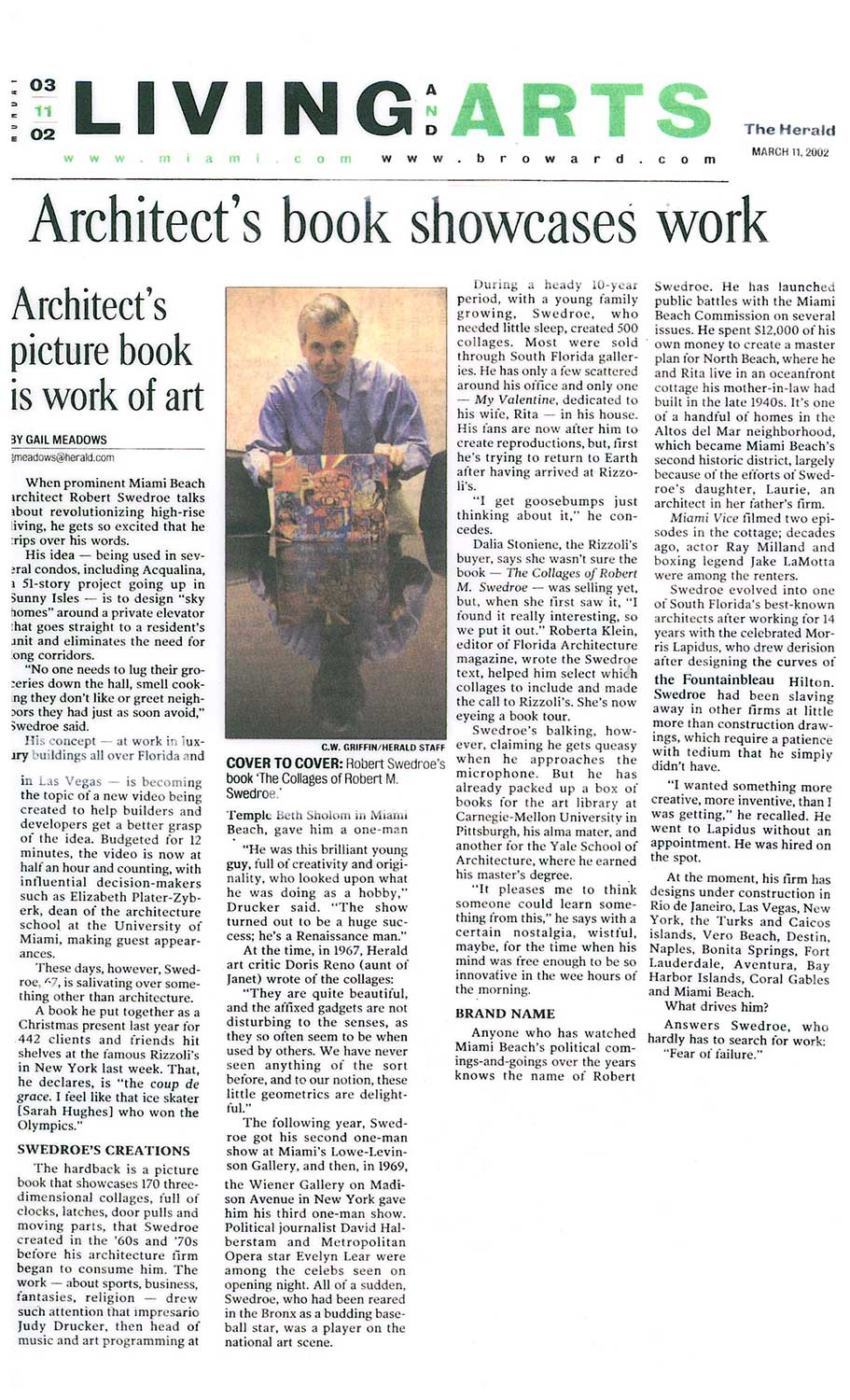 news_The_Herald._Architect's_book_showcases_work_3.11.02