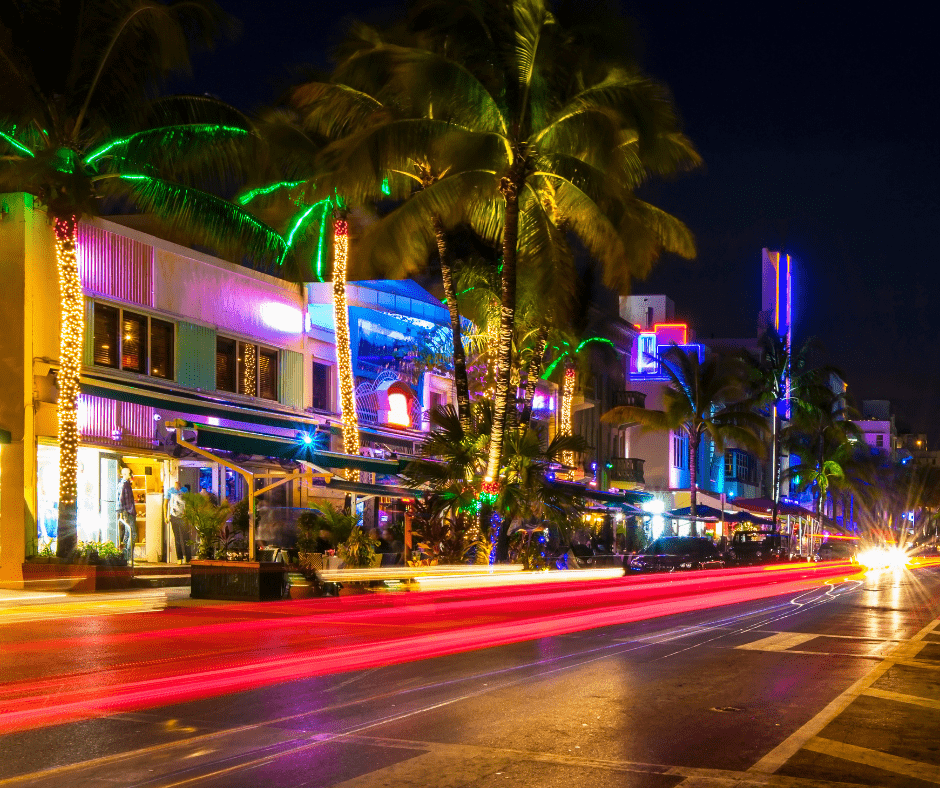 ocean drive at south beach