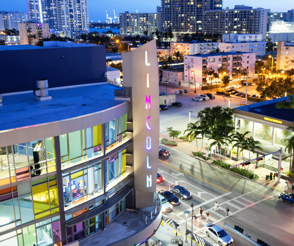 lincoln road mall at miami beach