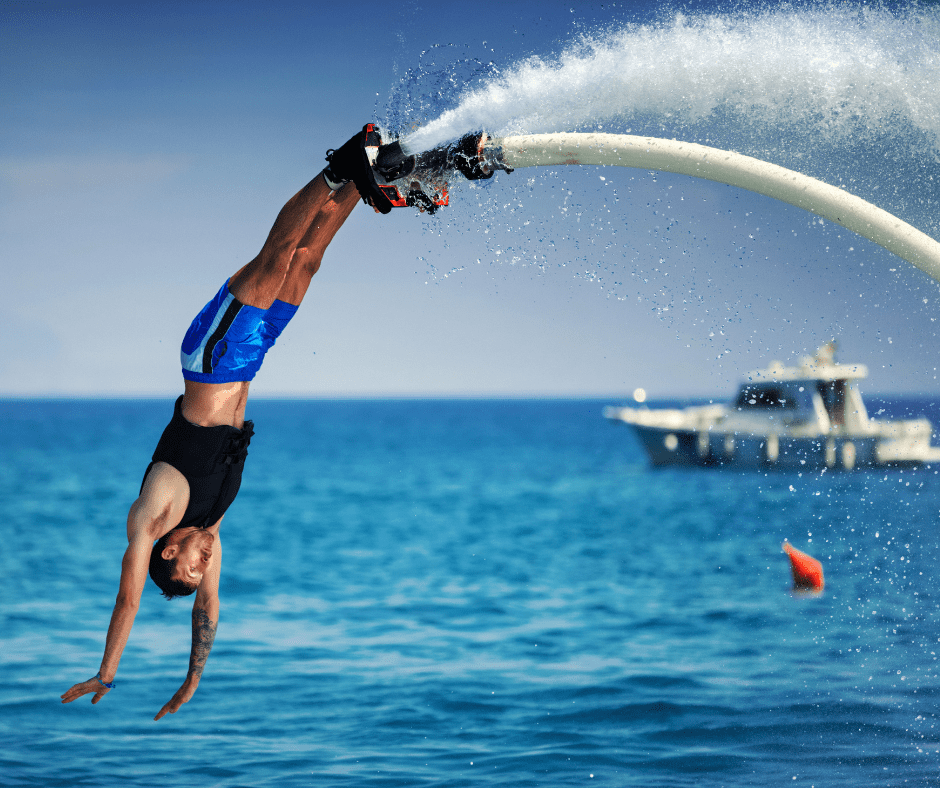 flyboard example of water sports