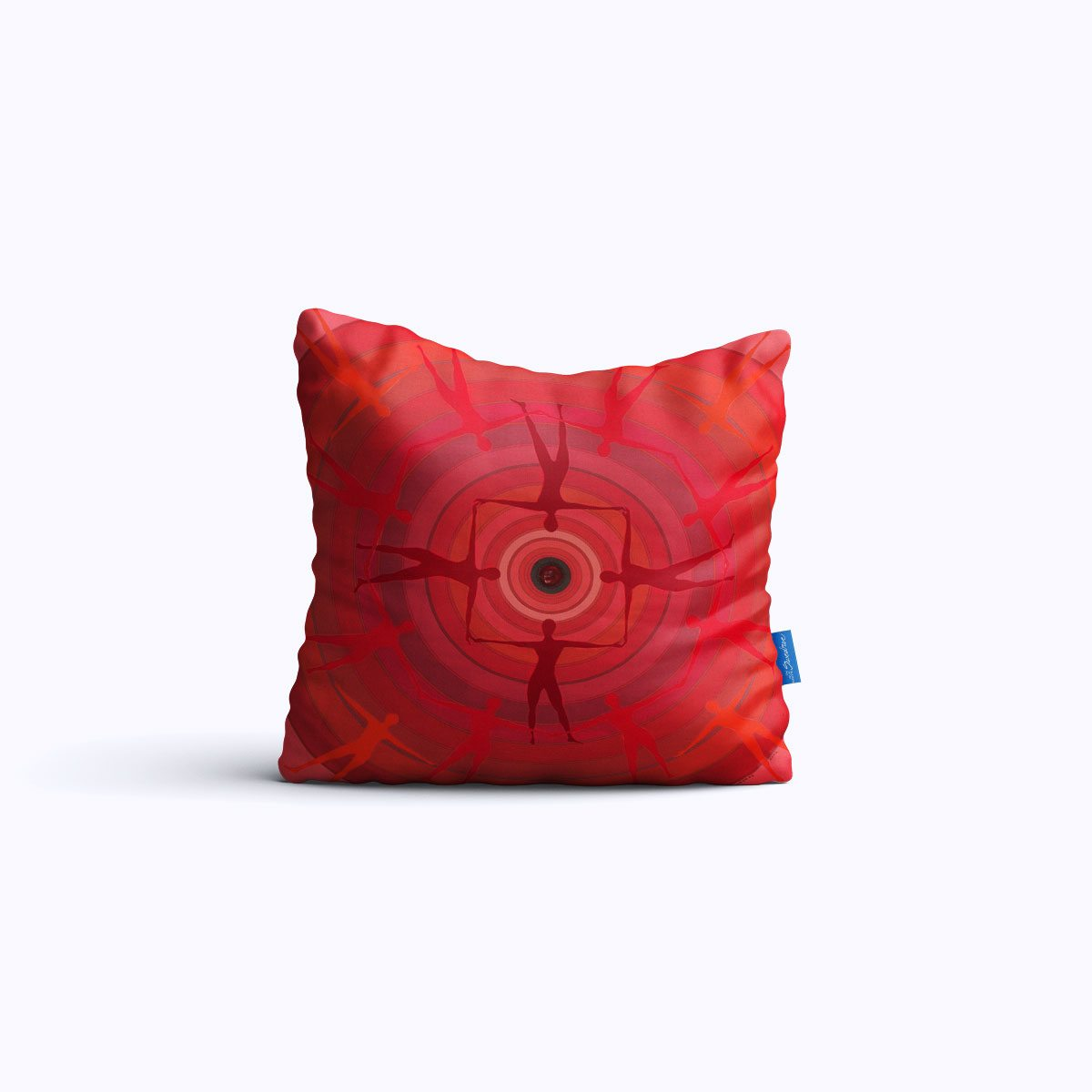 RMS019-Spin Study 01 - Throw Pillow - Swedroe Licensing