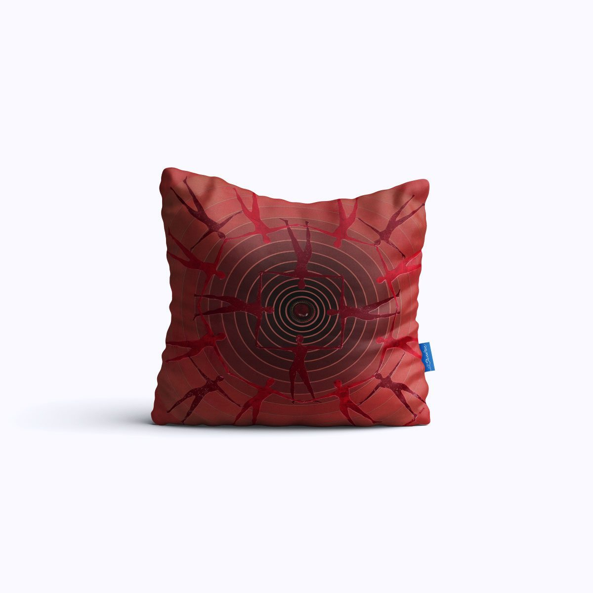 RMS020-Spin Study 02 - Throw Pillow - Swedroe Licensingc