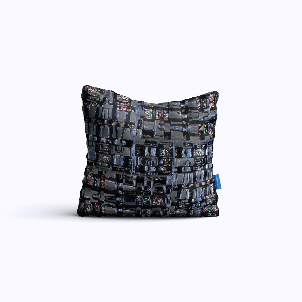 RMS422-Black Jewel Box – Throw Pillow – Swedroe Licensing
