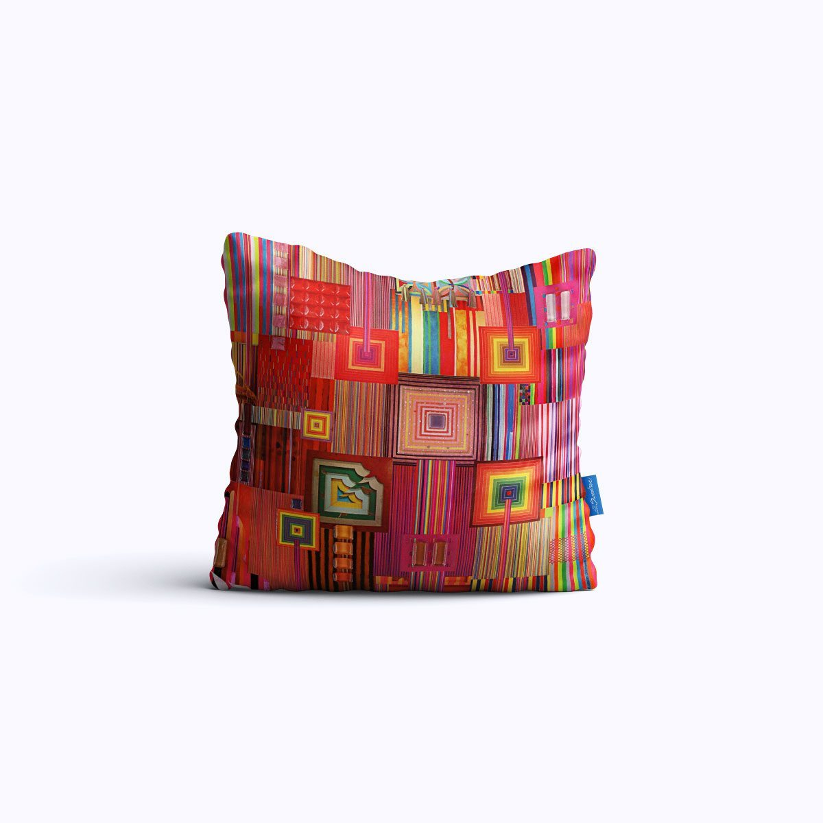 RMS100-Stellabars - Throw Pillow - Swedroe Licensing