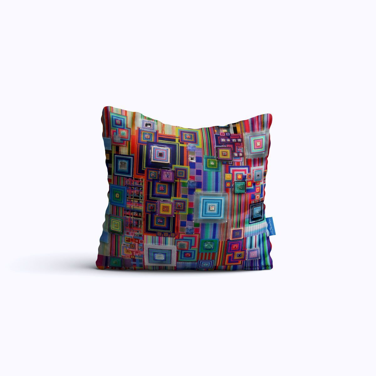 RMS1284-Cyberology - Throw Pillow - Swedroe Licensing