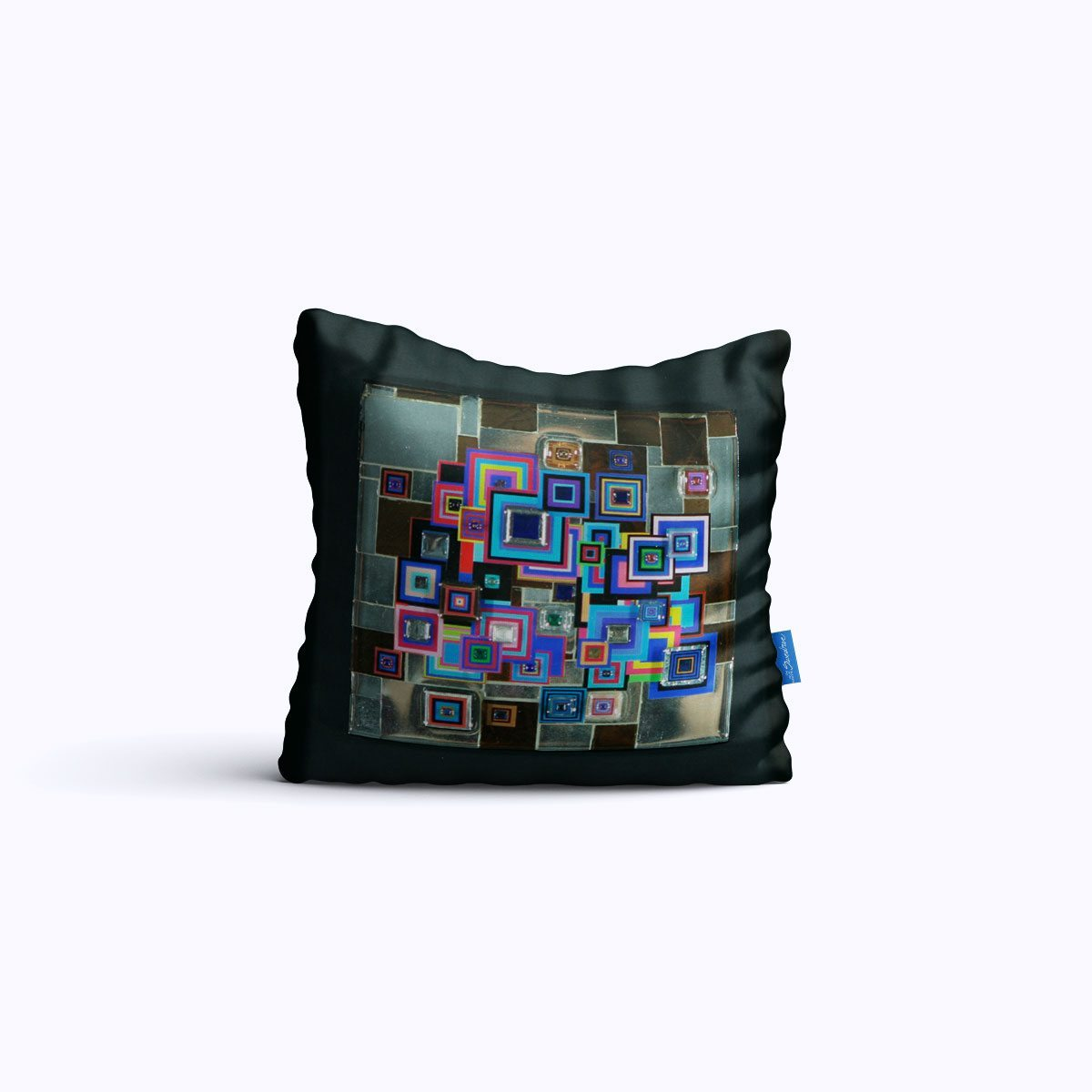 RMS410-Cyber Mirror – Throw Pillow – Swedroe Licensing