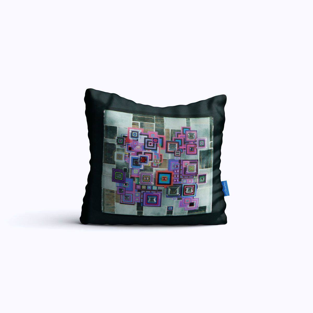 RMS411-Cyber Reflections - Throw Pillow - Swedroe Licensing