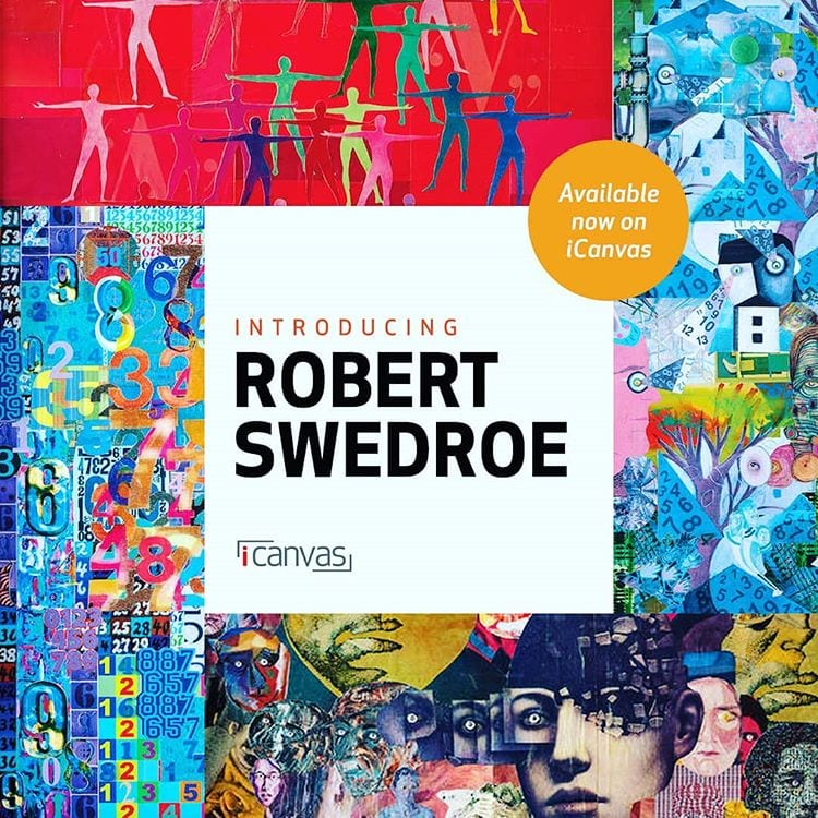 Swedroe Art License Deal with iCanvas