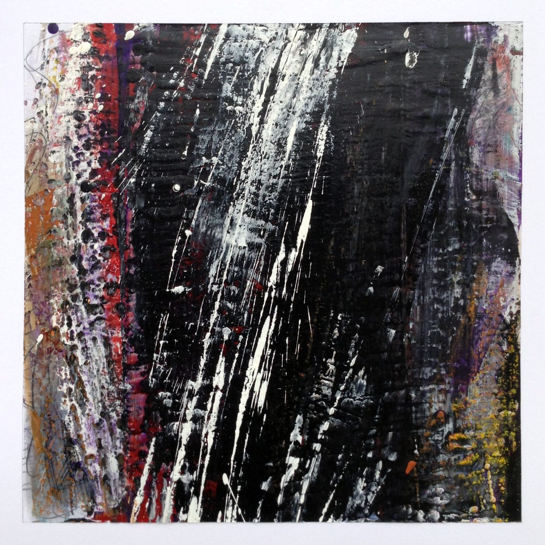 Reichenbach #7 - Encaustic Wax Art by Hal Shunk