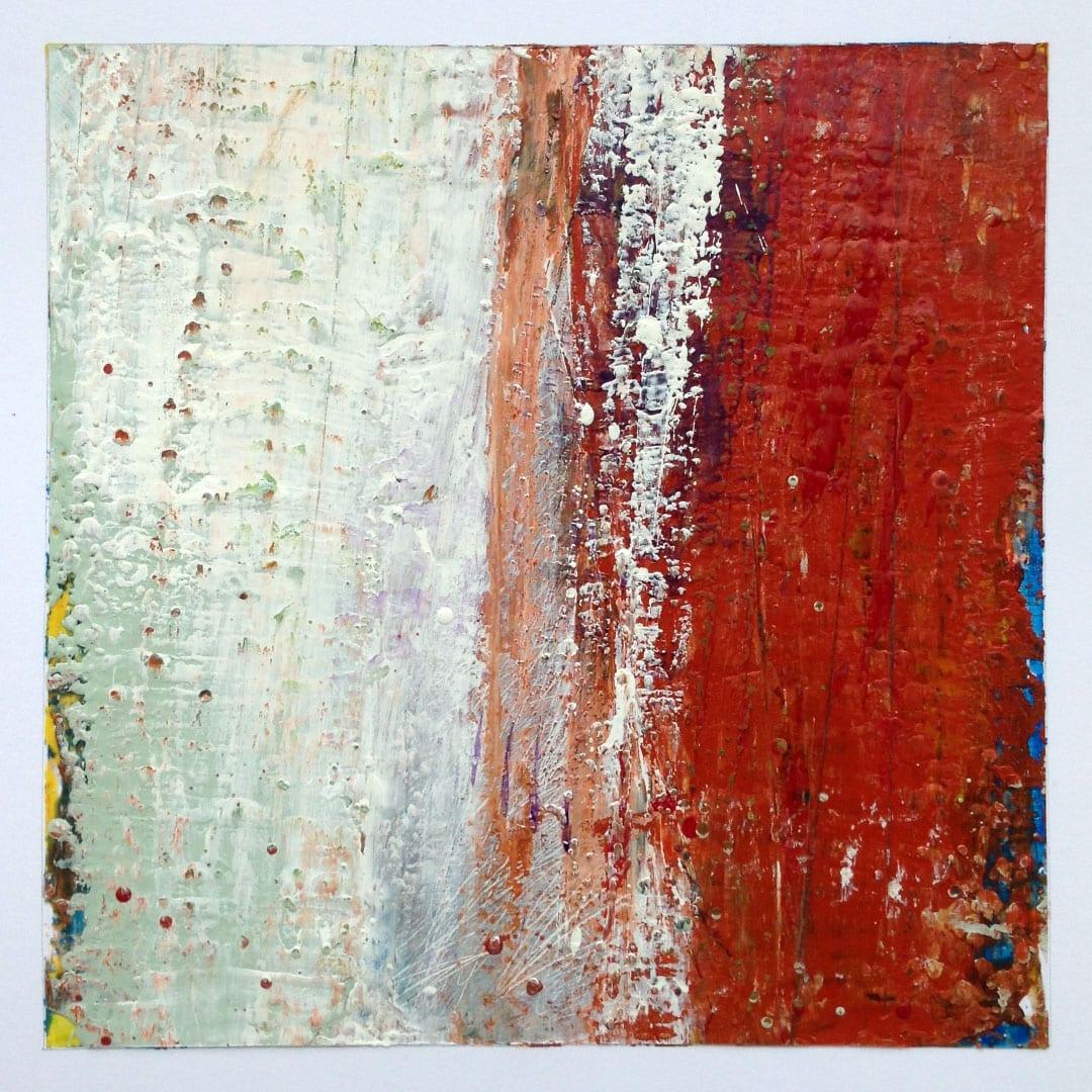 Reichenbach #8 - Encaustic Wax Art by Hal Shunk