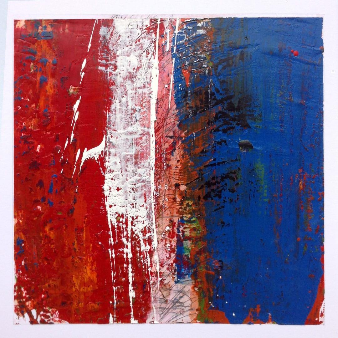 Reichenbach #9 - Encaustic Wax Art by Hal Shunk