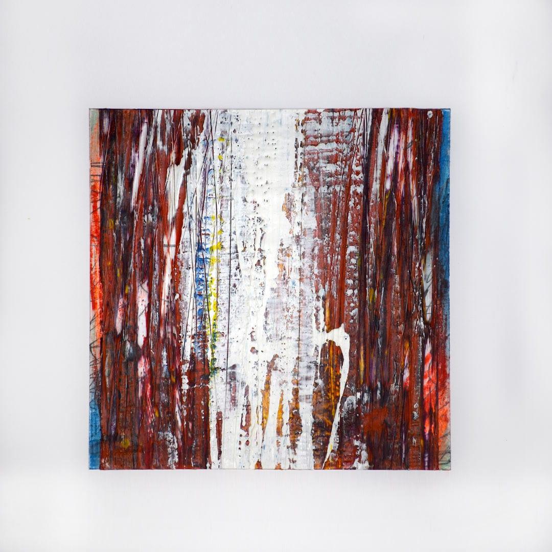 shunk-Angel-Falls-#12-10×10-Encaustic