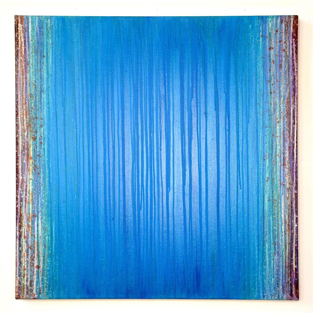 shunk-Calm-Rain-30×30-Acrylic-on-Canvas