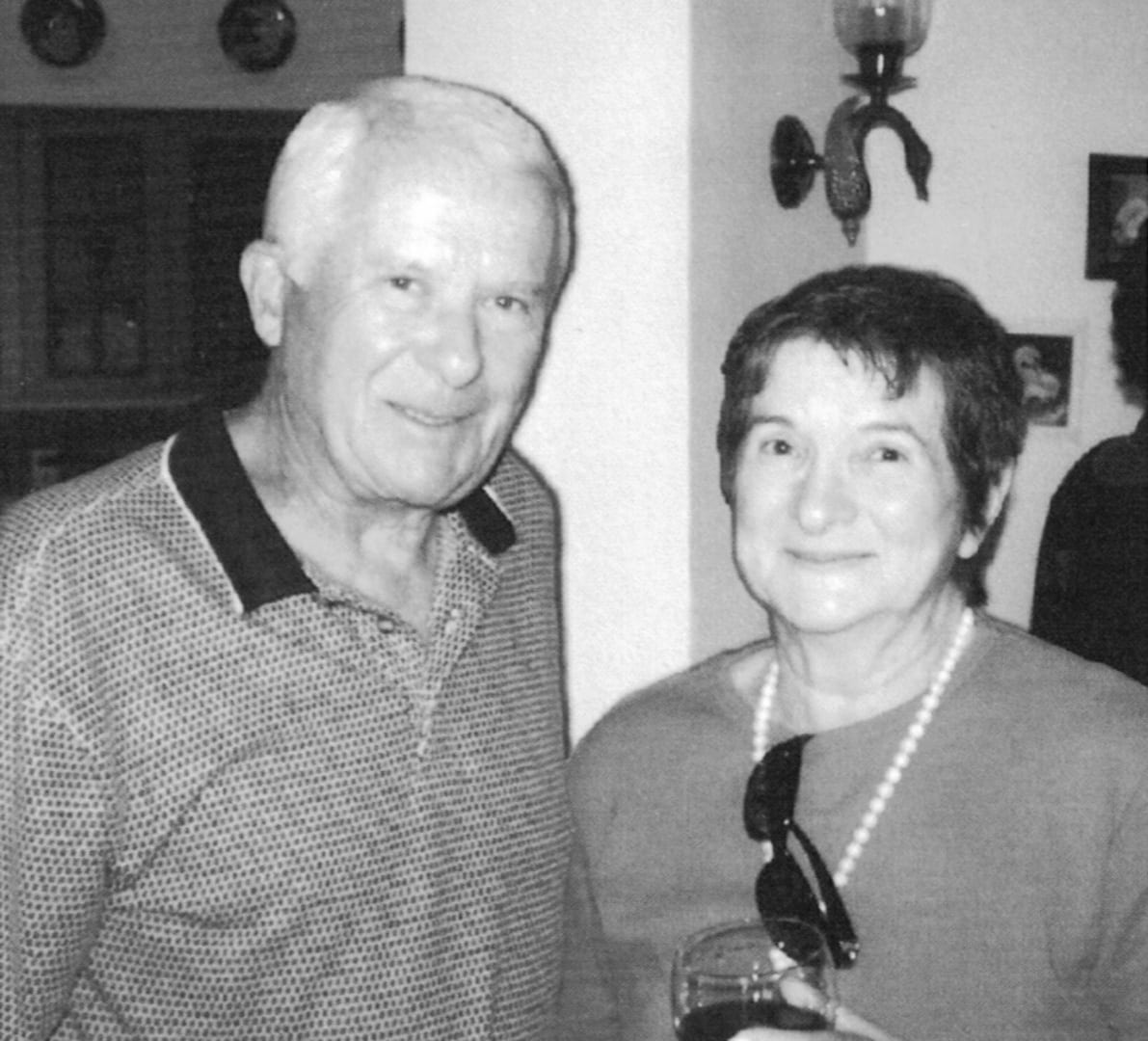 Author and Attorney Lewis M. Ress and his wife